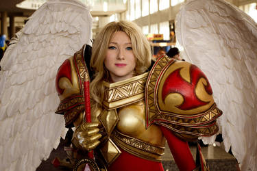 Kayle Cosplay by ZexenKnight00