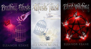 The Breathing Ghosts Series Covers by RebeccaFrank