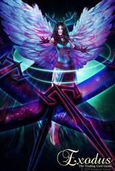 Cosmic Shield Archangel by RebeccaFrank