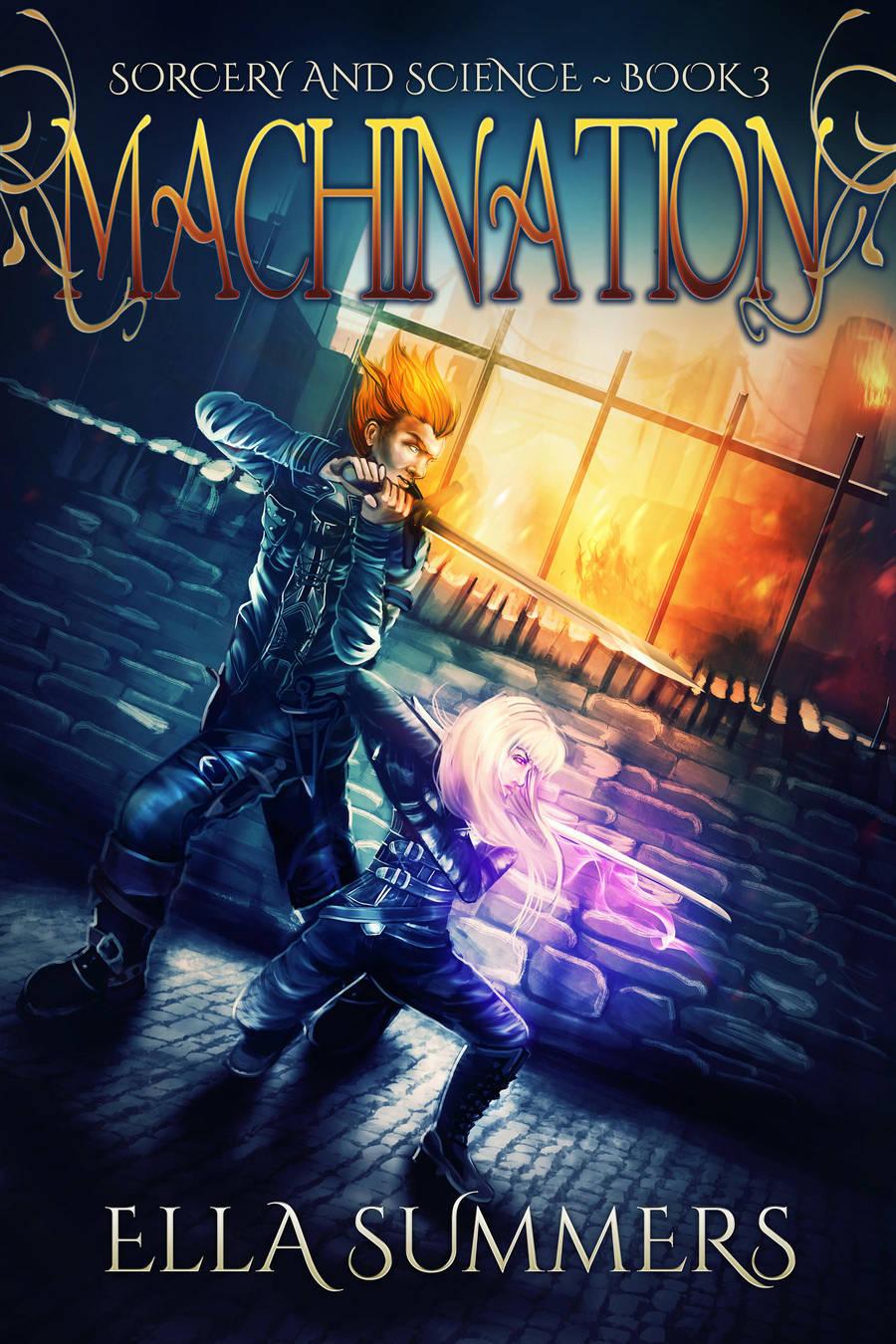 Machination by RebeccaFrank