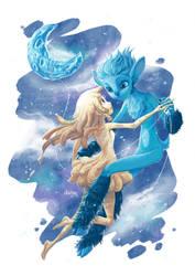 -:- Fanart - Mune: Guardian of the Moon -:- by Elairin