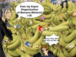 Org. XIII: It's Banana Time by caitsithcaitlin