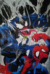 VENOM VS SPIDERMAN by RafaelAvd