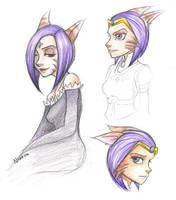 Sasha sketches by naviechance
