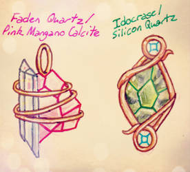 New Amulet Designs: Mark and Bob by Sketchythesketchbook