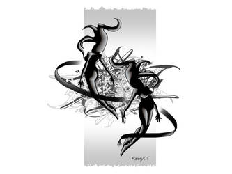Black Beauty White Vr by OTart