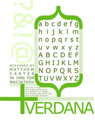 Verdana by arapax