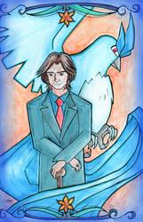 Rumplestiltskin (OUAT) Team Mystic by BlueBirdOfHapiness