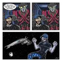 Mass Effect 3: Airlock 3 by drawinkpaper