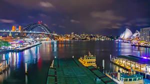 Sydney Lights by ntpdang
