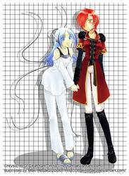 Commission: Chrysis and R.I.O. by MakiHosaku