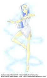 Commission: Ice Dancer by MakiHosaku