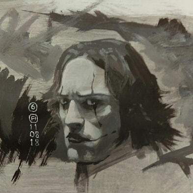 The Crow Study 6 by artloadernet