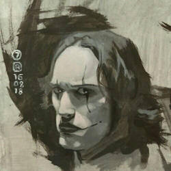 The Crow Study 7 by artloadernet