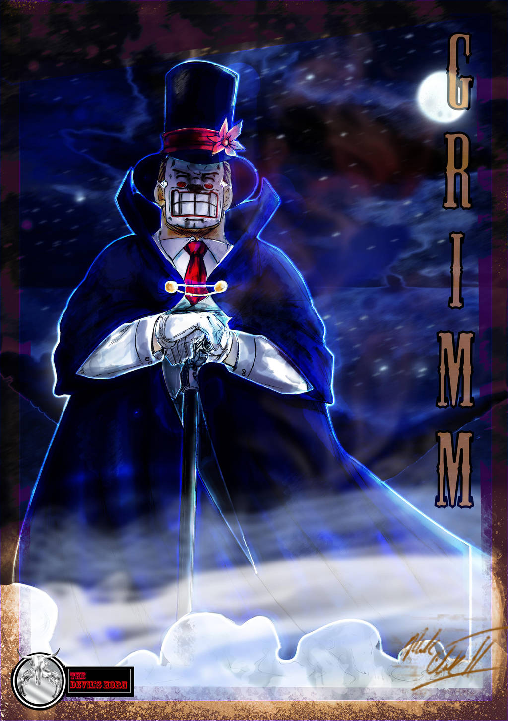 Grimm-Posterfinal by Mark-Clark-II