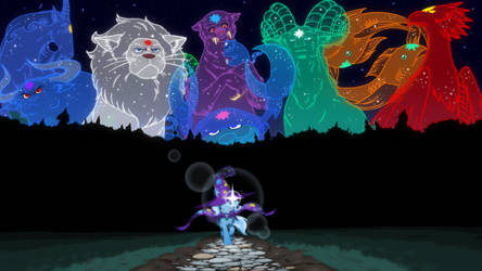 Reupload: Taming The Cosmos by Mega-PoNEO