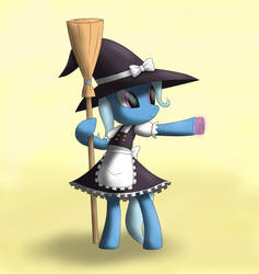 Reupload: The Great and Powerful Trixie Kirisame by Mega-PoNEO