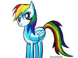 Rainbow Dash by Stardust87