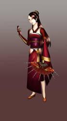 The China Doll by TorahSylphwind
