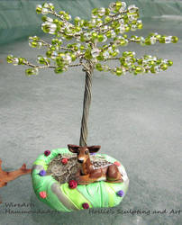Deer tree of life by HollieBollie
