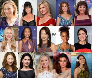 Disney Princess Voice Actresses by JoshuaOrro