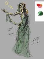 WIP - Elegant Poison Ivy by EvilPNMI