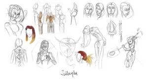 Alhanyah - Study - 20130207 by EvilPNMI