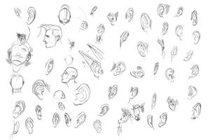 Training- ears by EvilPNMI