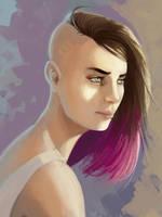 Lanaelle (Young) - Portrait by EvilPNMI