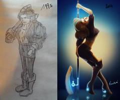 Draw it again - Tania by EvilPNMI