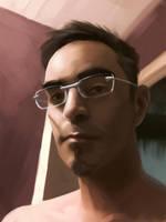 Training - Study : selfportrait by EvilPNMI