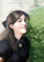 Study - La belle de Beauport by EvilPNMI