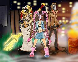 Harlequin Trio - Reversion by EvilPNMI
