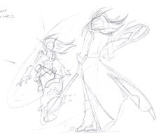 20060729 Demon vs Sorceress by EvilPNMI