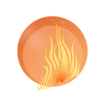 Magic icon fire by Ravica