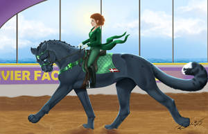 Golden Claw Event 2015 - Dressage by Ravica