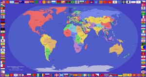 Alt-History Political Map by Kaim46