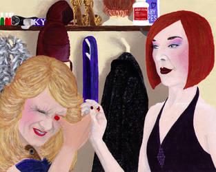 False Eyelashes Can Be ... Tricky by Keladry-Lupin