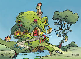 Fluttershy's House - Casa de Fluttershy by VSabbath