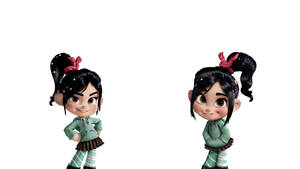 Vanellope And Her Clone by doublekids07
