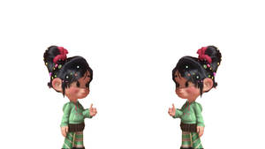 Vanellope Thanks To Sequel by doublekids07