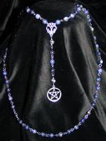 Sky pagan rosary by redLillith