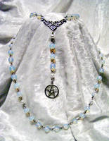 Water pagan rosary - ocean by redLillith