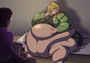OC:  Too Fat by Aka-FA