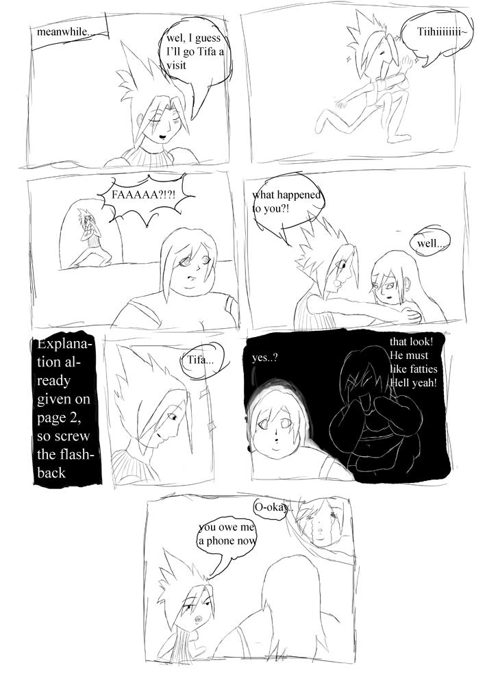 Fat Tifa Comic Part Three By Aka Fa On Deviantart