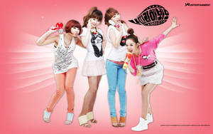 2NE1 Wallpaper 5 by Aki-likes-your-ART