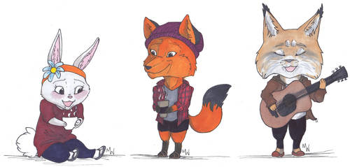 Chibis batch 2 by WhyteHawke