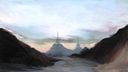 landscape by paralel
