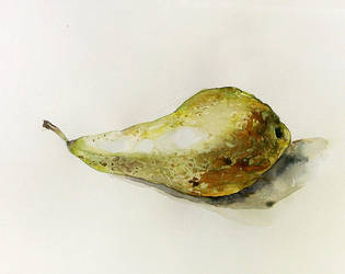 Pear sketch by sent-off