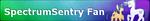 (C) MLP Fan Button SpectrumSentry by ShootingStarYT